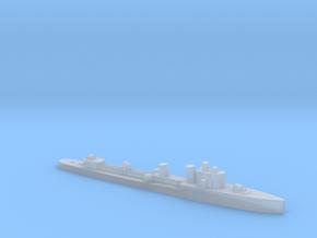 Italian Turbine class destroyer 1:1200 WW2 in Smooth Fine Detail Plastic