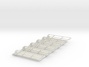 1:50 Stairs 13 W30mm 5pc in White Natural Versatile Plastic