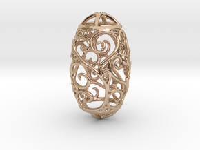 Secessic Love Pendant in 14k Rose Gold