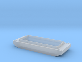 HO Scale Barge in Smoothest Fine Detail Plastic