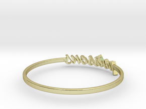 Astrology Ring Poissons US9/EU59 in 18K Yellow Gold