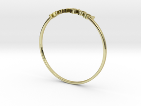 Astrology Ring Poissons US11/EU64 in 18K Yellow Gold