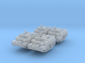 Universal Carrier Radio (x4) 1/220 in Smooth Fine Detail Plastic