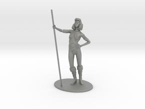Diana (Acrobat) Miniature in Gray PA12: 1:55