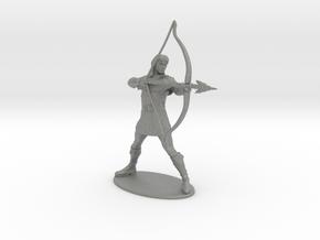 Hank the Ranger Miniature in Gray PA12: 1:55