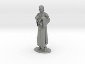 Presto the Magician Miniature in Gray PA12: 1:36