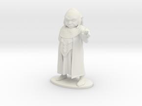 Dungeon Master Miniature in White Natural Versatile Plastic: 1:55