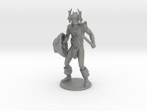Warduke Miniature in Gray PA12: 1:36