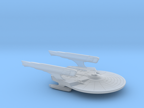 Miranda Class Concept / 5cm - 2in in Smooth Fine Detail Plastic