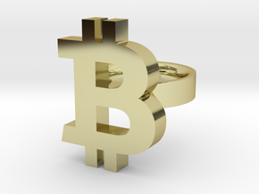 bitcoin_NFT_01_10US in 18K Yellow Gold: 10 / 61.5