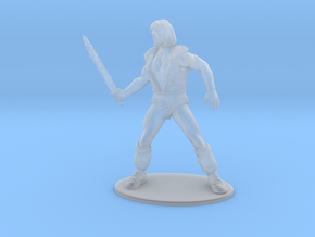 Thundarr the Barbarian Miniature in Smooth Fine Detail Plastic: 1:60.96
