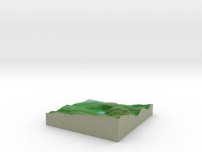 Terrafab generated model Sun Aug 17 2014 21:36:54  in Full Color Sandstone