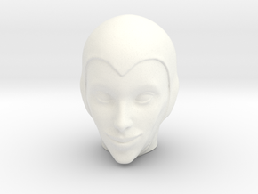Evil Witch / Phobia - MEGO in White Processed Versatile Plastic