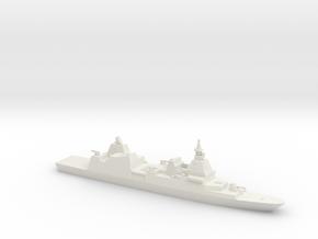 DDX Destroyer (2021 Impression), 1/1250 in White Natural Versatile Plastic
