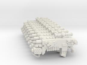 Combi Flamer DRAGON HEAD in White Natural Versatile Plastic