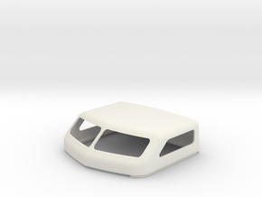 KW 72 Standup Bunk Cap in White Natural Versatile Plastic