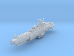 EDSF Second Generation Battleship Mk3 in Frosted Ultra Detail