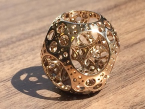 Apollonian Octahedron Mini in Polished Bronze