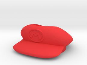 Beyblade Mario Hat   Custom Attack Ring in Red Processed Versatile Plastic