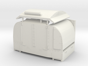 B-1-76-protected-simplex-doors-open-1-plus OO9 in White Natural Versatile Plastic