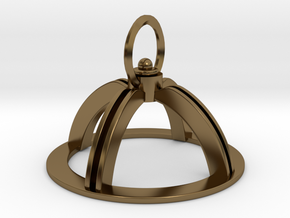 Orions Belt: Silver: Top Section (part 1 of 2) in Polished Bronze