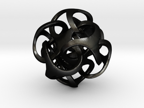Metatron 24mm (1 inch) in Matte Black Steel