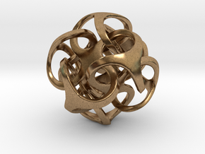 Metatron 24mm (1 inch) in Natural Brass