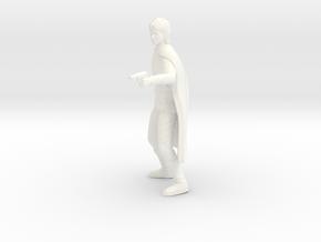 Battlestar Galactica - Apollo in White Processed Versatile Plastic