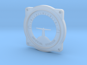 Artificial Horizon scale in Smooth Fine Detail Plastic