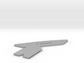 115mm, 120mm Focus Cam for Linhof Technika III in Aluminum: Medium