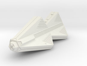 3788 Scale Tholian Police War Destroyer (PDW) SRZ in White Natural Versatile Plastic