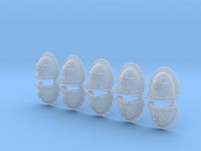 Dark Ángeles Shoulder Pads flat Mk3 x10 in Smoothest Fine Detail Plastic
