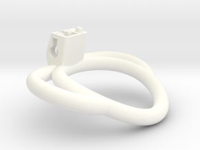 Cherry Keeper Ring G2 - 47mm +10° Handles in White Processed Versatile Plastic