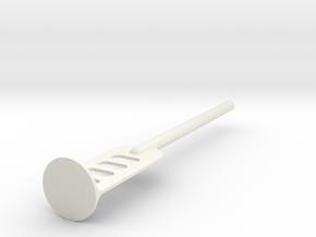 Survival Tool in White Natural Versatile Plastic