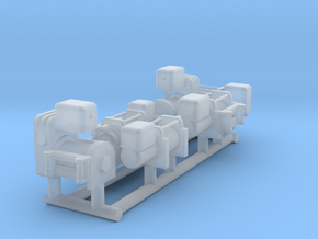 1:64 Winches in Smoothest Fine Detail Plastic