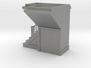 1:48 scale staircase 3 in Gray PA12