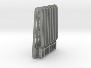 04:  Storage for Canula-Wire-Loop, 7 pieces in Gray PA12