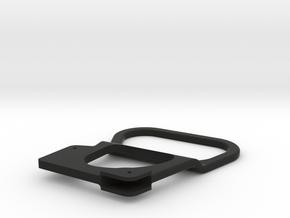 Spitfire Droptank handle  in Black Natural Versatile Plastic