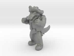 Leatherhead tmnt miniature model fantasy games rpg in Gray PA12