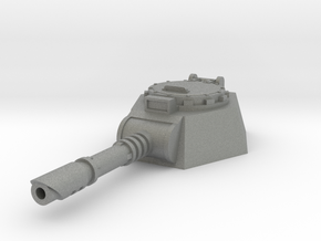 28mm laser cannon turret flat bottom in Gray PA12