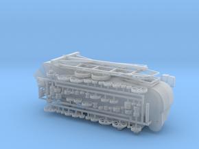 REVISED! Grain Thresher Kit 87 76 72 64 48 43.5 in Smooth Fine Detail Plastic: 1:64 - S