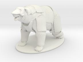 Panserbjørne Miniature in White Natural Versatile Plastic: 1:60.96