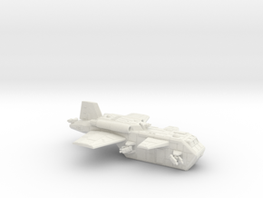 15mm Legionary Skyhawk Transporter (x1) in White Strong & Flexible