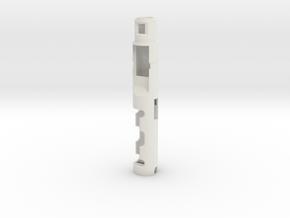 Atom Sabers Master KM CFX Chassis in White Natural Versatile Plastic