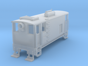 Nn3 Free-lance Box-cab Internal Combustion Loco in Smoothest Fine Detail Plastic