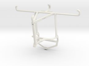 Controller mount for PS4 & Oppo Find X3 - Top in White Natural Versatile Plastic
