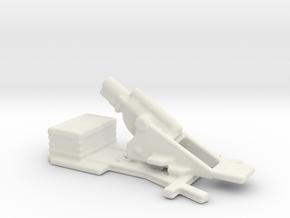 bl 9.2 inch  MK 1  siege howitzer 1/160  in White Natural Versatile Plastic