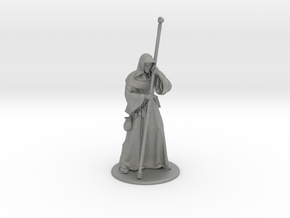 Raistlin Miniature in Gray PA12: 28mm