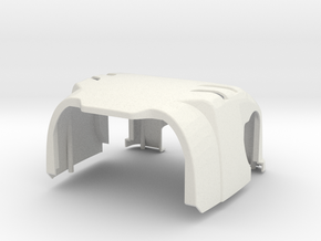 DARwIn-OP body front in White Strong & Flexible