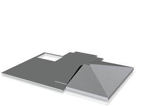 Second floor slab_50 in White Natural Versatile Plastic